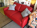 Candy Sofa Intermezzo Touch rot